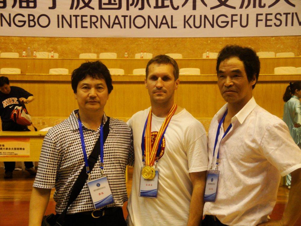 Wushu Championship Ningbo/ China 2013 - Tai Chi Wien